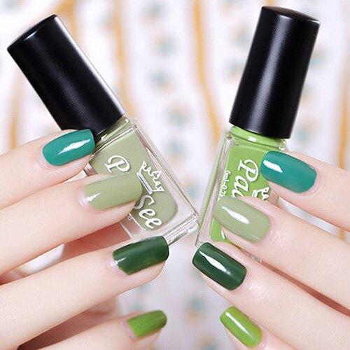 指甲油 環保清香亮擇自然色系指甲油4件組 艾爾莎 【TOY2403】
