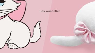 Qoobo×迪士尼瑪莉貓 超療癒可動尾巴抱枕新上市