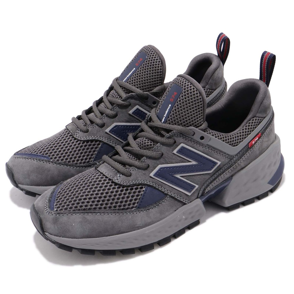 流行休閒鞋品牌:NEW BALANCE型號:MS574EDND品名:MS574EDN D配色:灰色,藍色