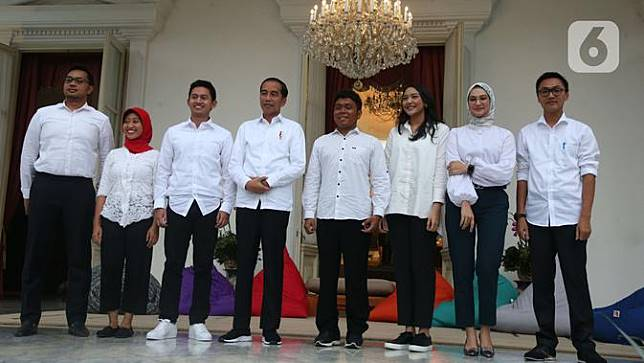 Putri Tanjung hingga Angkie Yudistia Diangkat Jadi Staf Khusus Jokowi