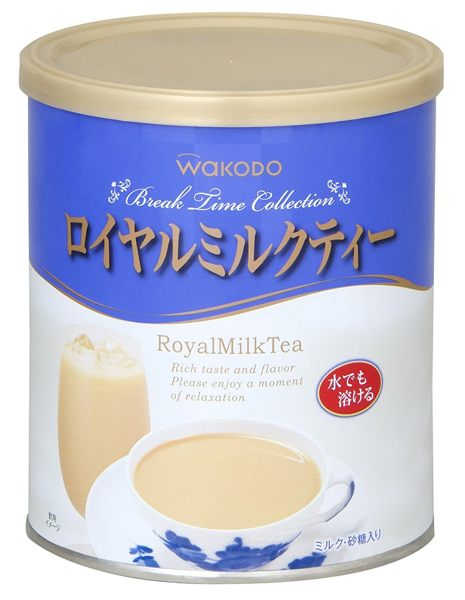 日本暢銷排行榜飲品 和光堂WAKODO沖泡式皇家奶茶380g【JE精品美妝】