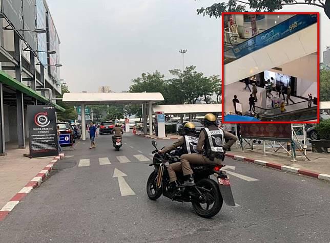 ตำรวจคุมตัว หนุ่มยิงกลางห้างดังย่านนนทบุรี ปชช.แตกตื่น หนีอลหม่าน