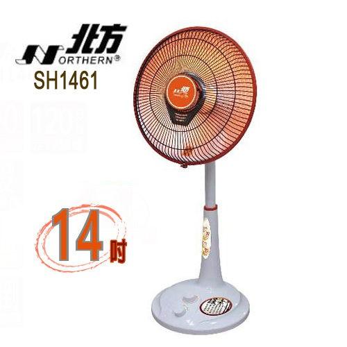(現貨)NORTHERN北方14吋碳素電暖器 SH1461