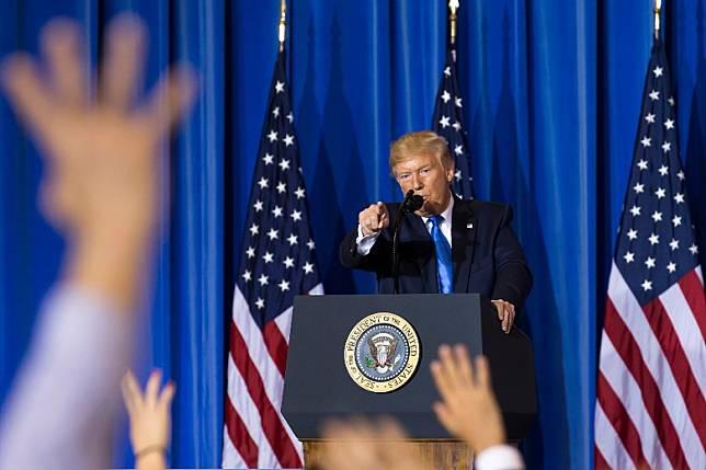 特朗普(Getty Images圖片)