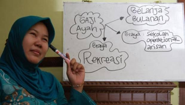 Mengatur perencanaan keuangan.TEMPO/ Gunawan Wicaksono