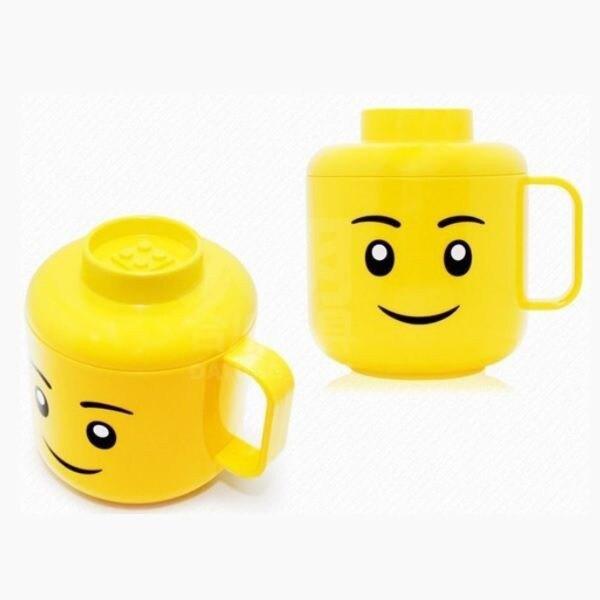 2018超夯排行榜《OXFORD》Cup with lid積木臉孔造型水杯(附蓋) 好窩生活節