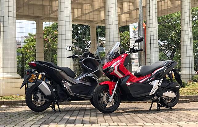 Honda ADV150  2 pilihan varian yaitu tipe ABS-ISS Rp 36,5 juta OTR Jakarta dan CBS-ISS Rp 33,5 juta OTR Jakarta.