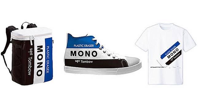 MONO擦膠推出「這樣你也會認識MONO活動」,有機會贏取MONO圖案帆布袋、運動鞋或T Shirt作禮品。(互聯網)