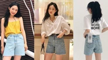 韓妞追捧的More Jean五分丹寧褲,3個穿搭小技巧讓你腿長無極限!