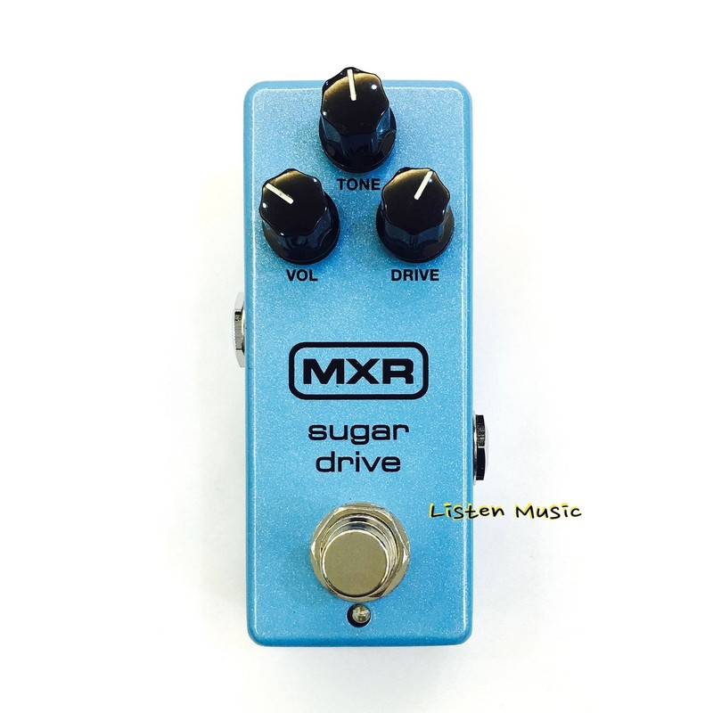立昇樂器 MXR Sugar Drive 單顆破音效果器 M294 附原廠變壓器 Overdrive 破音 公司貨