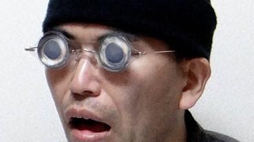 真係用死魚眼造的「死魚眼眼鏡」