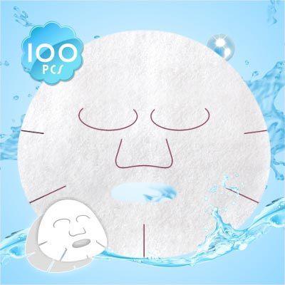 【美容師專業用】嬌莉柔優質水針面膜紙-100入 [48791]