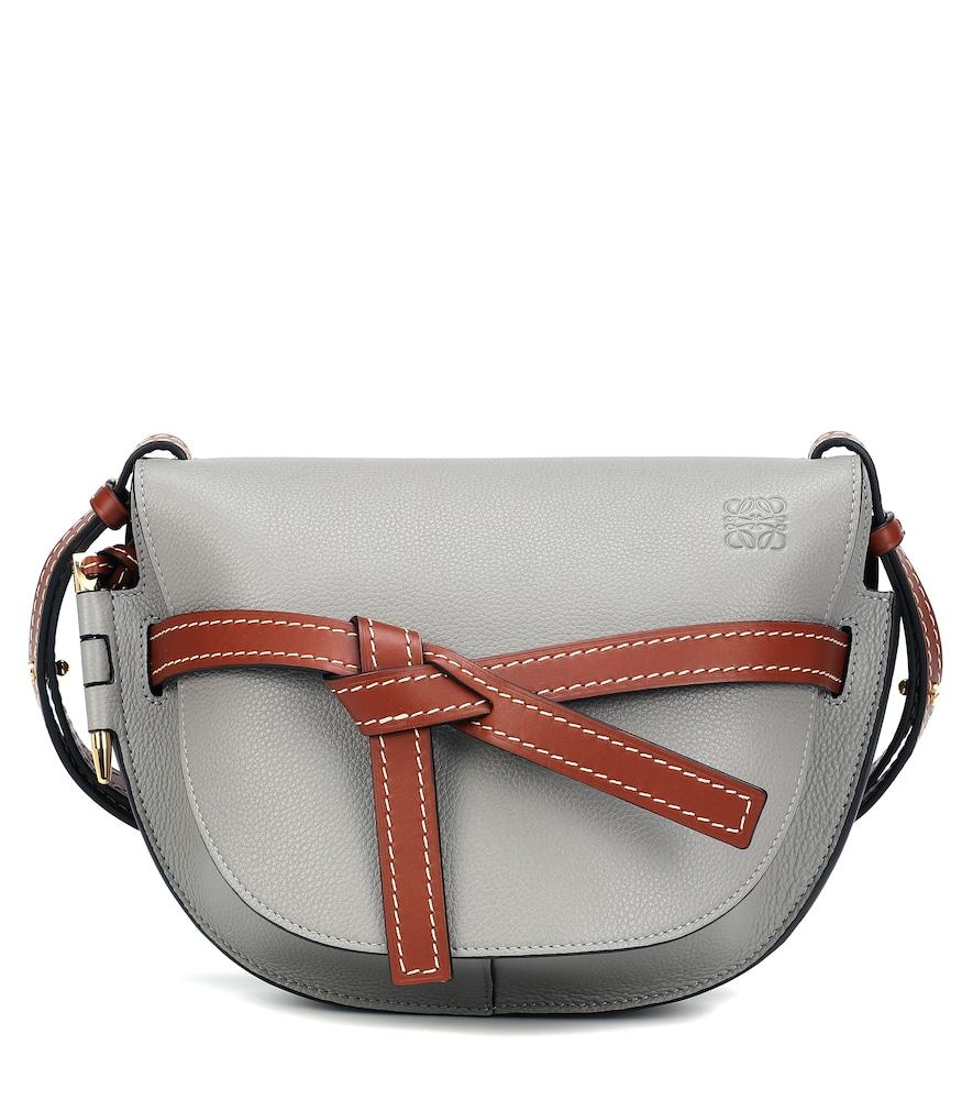 Artisanal craftsmanship defines the Gate Small crossbody bag from LOEWE.