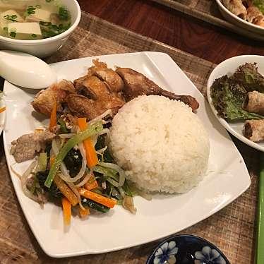 実際訪問したユーザーが直接撮影して投稿した百人町ベトナム料理ベトナムちゃんの写真
