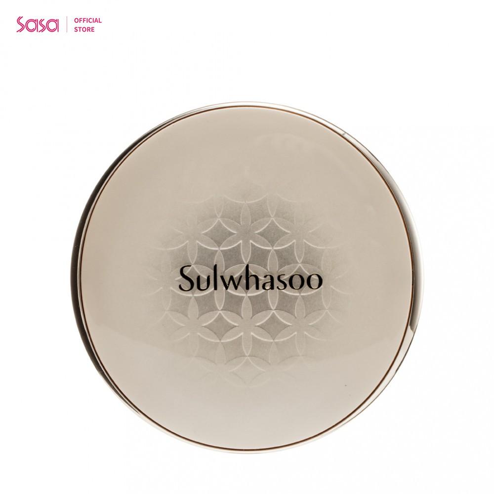 SULWHASOO (雪花秀) 緻美氣墊粉底液 (NO.21) (15 克 x 2)【Sulwhasoo (雪花秀) 緻美氣墊粉底液 (NO.21) (15 克 x 2)】緻美氣墊粉底液的升級版,加入