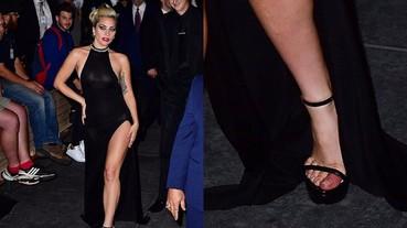 Lady Gaga 踩上超高跟鞋再現女王風采 一張照片告訴你這背後有多辛苦!