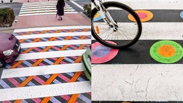 生活中的小樂趣:在馬德里,藝術家使單調的斑馬線變得趣味橫生!