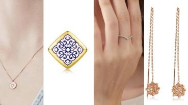 找婚鑽戒、輕奢飾品、黃金必參考!TOP6值得你投資的飾品排行