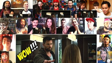 全球各國網友觀看《復仇者聯盟 4》新預告的第一反應 大家都在「這個畫面」時笑出來!