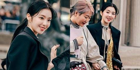 Potret Cantik Irene Red Velvet Hadir di Event Paris Fashion Week