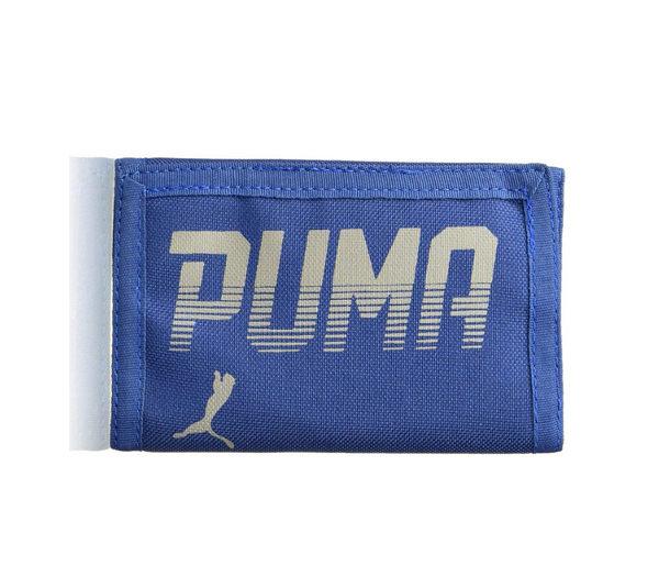 PUMA PIONEER WALLET 皮夾 [07471602] 運動 錢包 方便 收納 輕巧 實用 魔鬼氈 藍