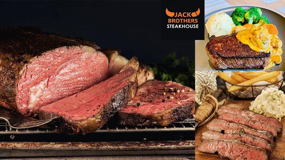 傑克兄弟牛排館推美國菲力牛排免費升級活動,即日起開跑~新鮮冷藏美國牛肉這裡通通吃得到!