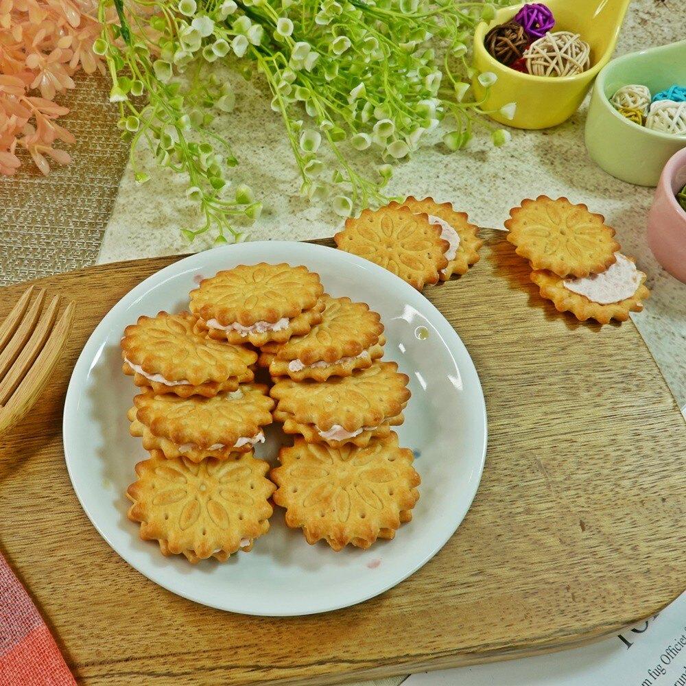 草莓派夾心(3入) 500g【2019040920067】(古早味)。食品與甜點人氣店家樂天三味食品的古早味餅乾 (超取最多只能3包喔!! )有最棒的商品。快到日本NO.1的Rakuten樂天市場的安