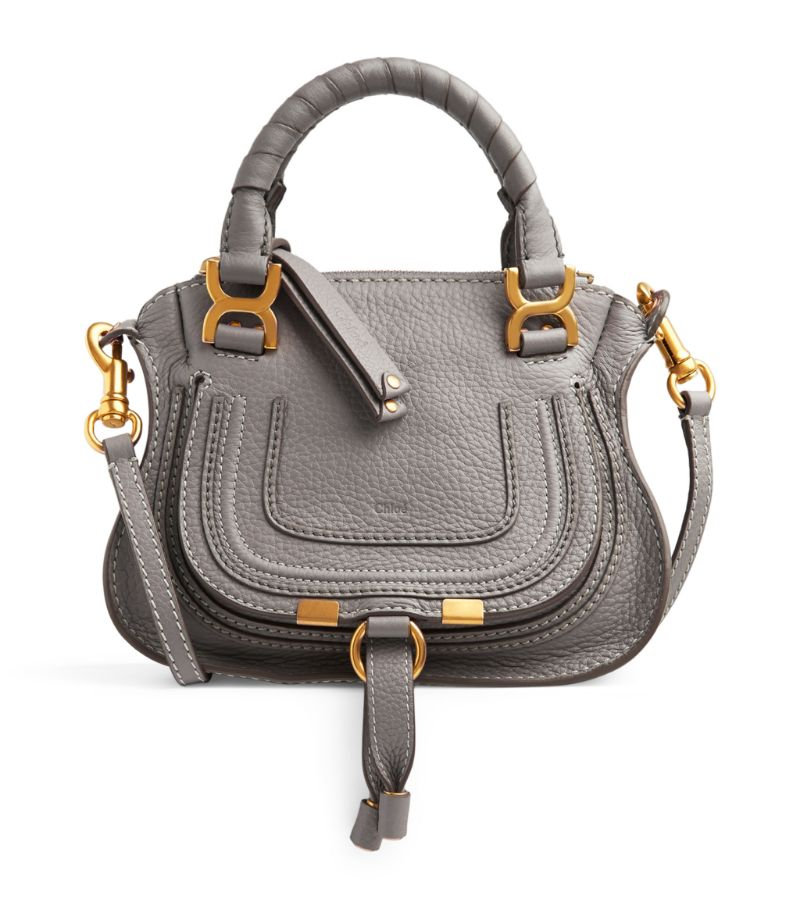 Chloé's Marcie bag is a now-iconic style inspired by '70s folk spirit. Crafted in Italy from grained
