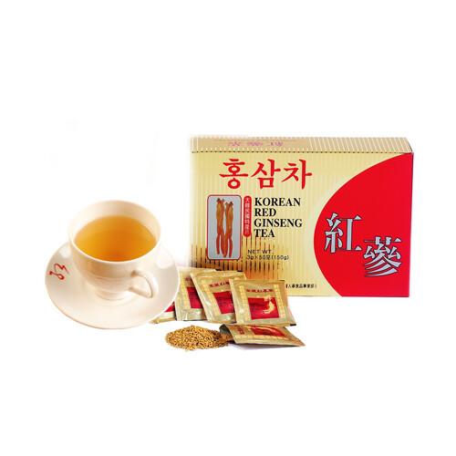 金蔘-6年根韓國高麗紅蔘茶(50包/盒)
