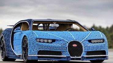 真的可以開上路!Bugatti 布加迪「樂高超跑」大創舉
