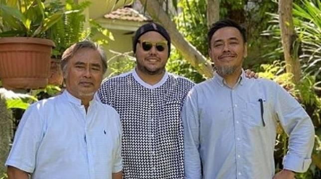 Potret kebersamaan Ivan Gunawan dan ayahnya, Bambang Tjahyo Gunawan [Instagram/@ivan_gunawan]