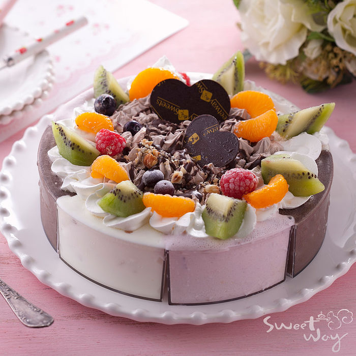 [伴手禮專案]世唯烘焙坊_藍帶騎士冰淇淋蛋糕(8吋/入)
