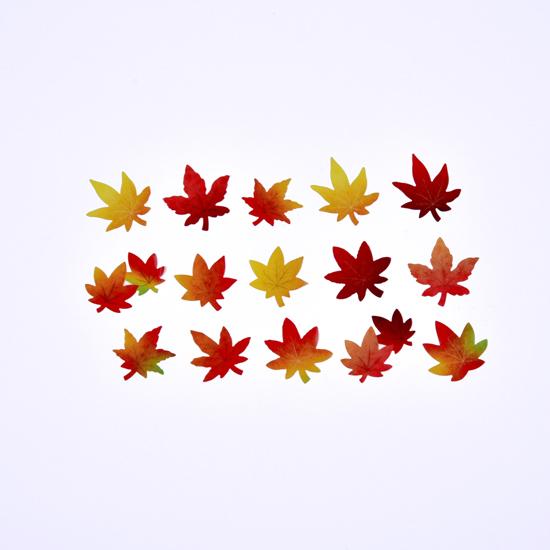 楓葉貼紙紙膠細節