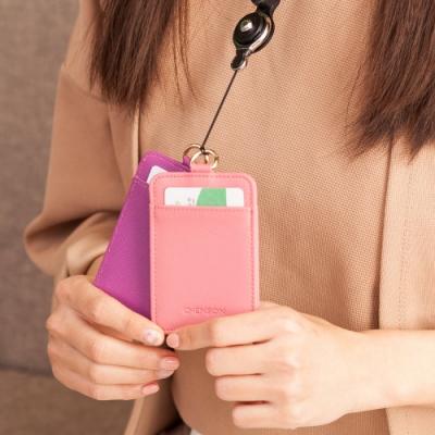 下單送簡易頸掛繩(無伸縮) 獨家開版款 讓側邊不易爆開的獨家設計 讓鑰匙掛成一串的大D釦設計 真皮摩洛哥牛皮革製作