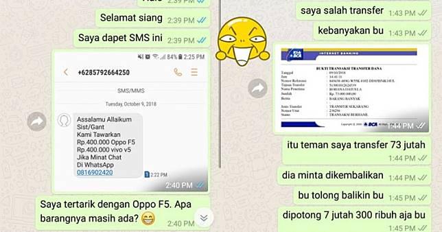 12 Chat Usilin Penipu Online Shop Ini Gereget Abis, Endingnya Kocak