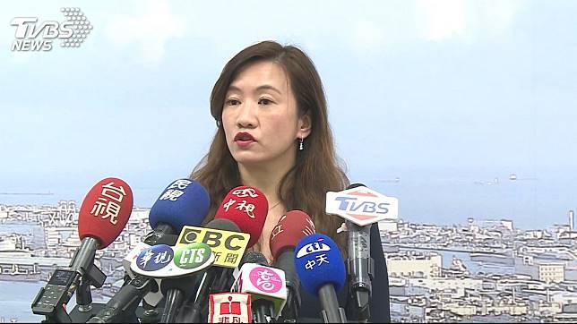 韓國瑜競選辦公室發言人王淺秋。圖/TVBS資料畫面