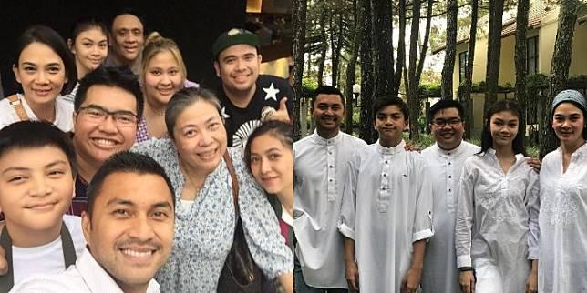 Jadi Salah Satu Artis Indonesia Terkaya, Intip Potret Keluarga Anjasmara yang Selalu Meriah dan Ramai