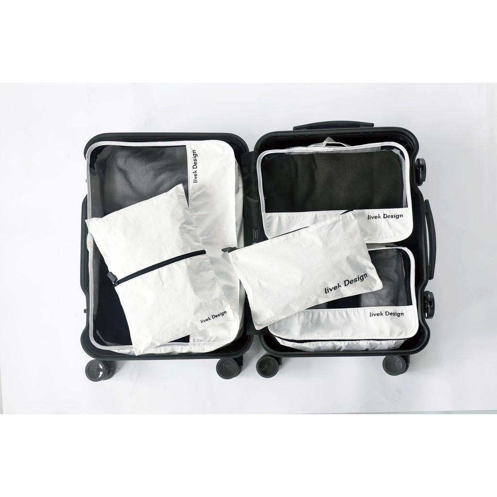 香港 LIVEK Design 北歐風格 杜邦材質 抗撕裂防水防塵 簡約科技 輕便堅固旅行收納包