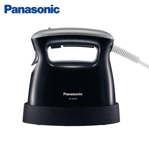Panasonic國際 手持掛燙兩用蒸氣熨斗NI-FS470-K【愛買】