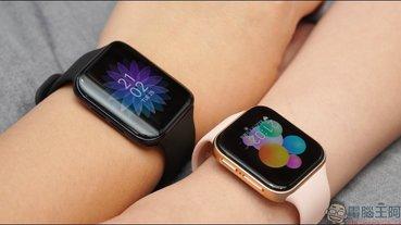 OPPO Watch 系列智慧手錶開箱動手玩:3D 雙曲面 AMOLED 螢幕智慧時尚穿搭, Watch VOOC 閃充、最長 21 天續航