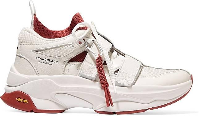 Brandblack x pushBUTTON白色運動鞋(互聯網)