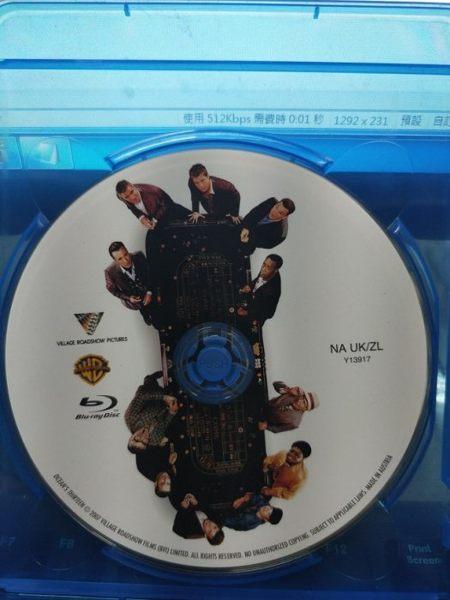 挖寶二手片-Q03-179-正版BD【瞞天過海:13王牌】-藍光電影(直購價)沒有海報