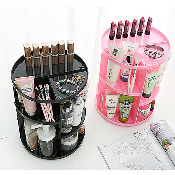化收盒 360度旋轉收納整理架 化妝品刷具保養品 【FMD106】收納女王