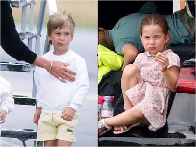 Like Father, Like Daughter: 6 Foto Ini Bukti Pangeran William Kecil Mirip Charlotte
