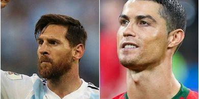 Beda Ronaldo dan Messi Hanya Sebatas Tempat Fitnes