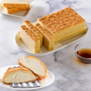 嚴選香氣飽滿的日本紫羅蘭小麥粉 融合細緻的蛋香與頂級楓糖 將美味完全包覆在一層層的蛋糕中