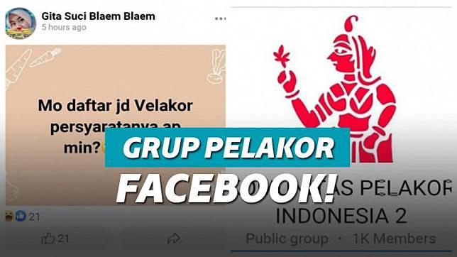 Grup Pelakor Di Facebook Menjadi Viral Keepo Me Line Today