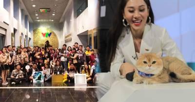 """Buổi offline mèo siêu độc tại Hà Nội, được """"đặc cách"""" tổ chức ngay trong đài truyền hình Quốc gia"""