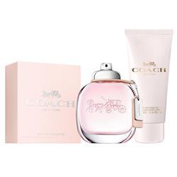 【COACH】時尚經典女性淡香水50ml(贈送COACH身體乳100ml)
