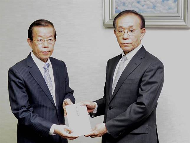 謝長廷代表政府捐2千萬日圓賑災款給日本  強調災區忙碌暫時勿造成干擾